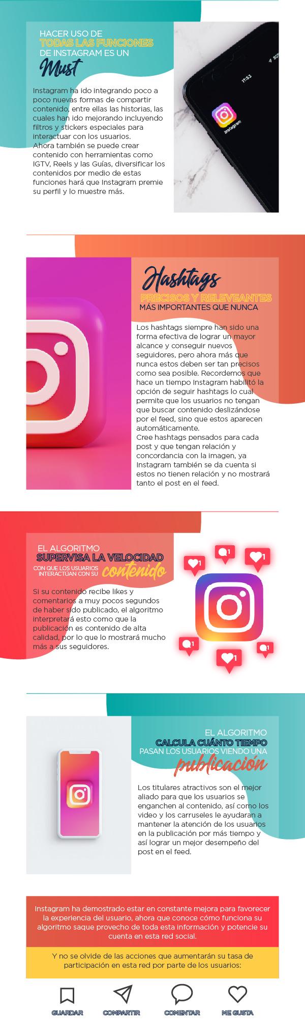 ¿Cómo funciona el algoritmo de Instagram?